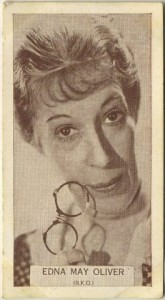 Edna May Oliver 1934 Wills Tobacco Card