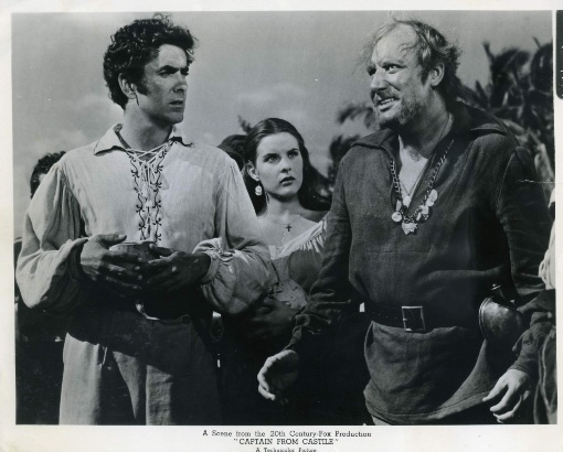 Tyrone Power and Alan Mowbray