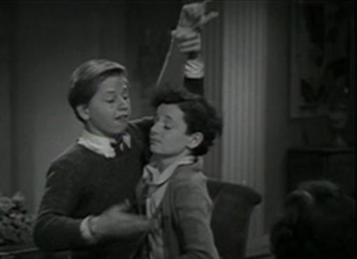 Mickey Rooney and Freddie Bartholomew