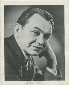Edward G Robinson 1936 R95 Premium Photo