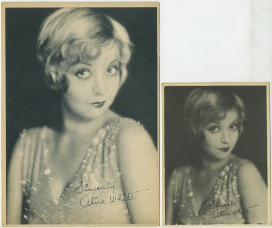 Alice White small Kashin card and 5x7 version