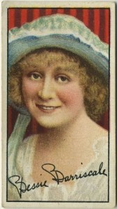 Bessie Barriscale Tobacco Card