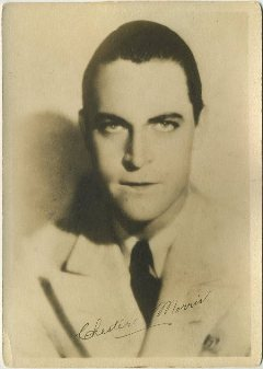Chester Morris 1930s 5x7 Fan Photo