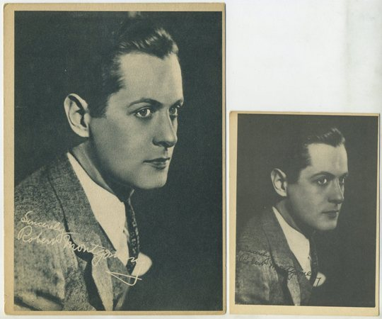 Robert Montgomery small Kashin card and 5x7 version
