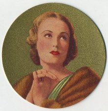Fay Wray 1939 Rothmans Beauties of the Cinema Tobacco Card