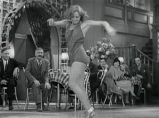 Joan Crawford in action