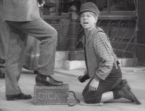Mickey Rooney in Little Lord Fauntleroy