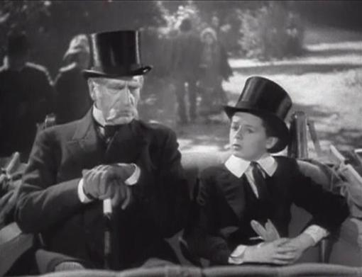 C. Aubrey Smith and Freddie Bartholomew
