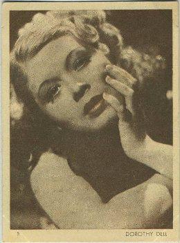 1930s Aguila Dorothy Dell Chocolate Premium
