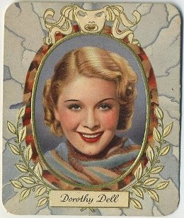 Dorothy Dell 1930s Garbaty German Tobacco Card