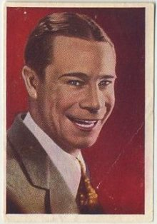 Joe E. Brown 1936 Nestles Trading Card