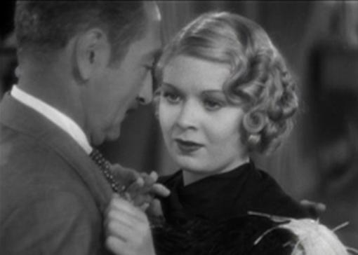 Dorothy Dell and Adolphe Menjou in Little Miss Marker