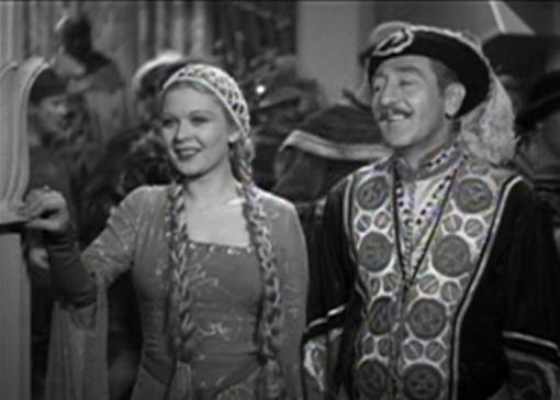 Adolphe Menjou and Dorothy Dell in Little Miss Marker