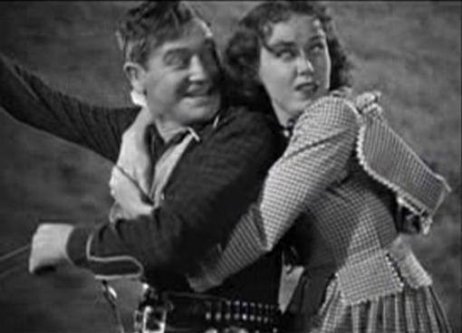 Richard Dix and Fay Wray