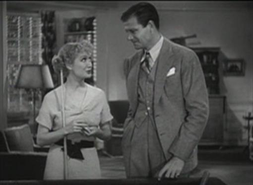 Miriam Hopkins and Joel McCrea