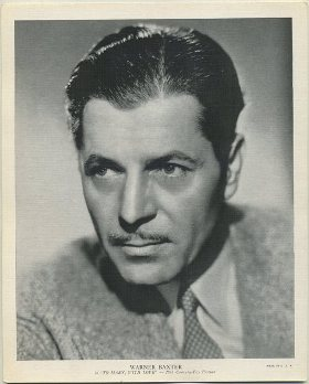 Warner Baxter 1936 R95 8x10 Linen Textured Premium Photo