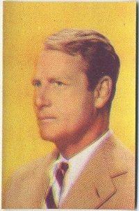 Joel McCrea 1951 Artisti del Cinema Card
