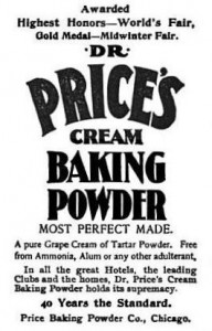 1895 Dr. Price's ad