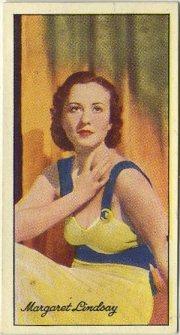 1935 Carreras Margaret Lindsay Card
