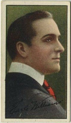 Earle Williams 1916 Imperial Tobacco Co Tobacco Card