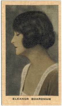 Eleanor Boardman 1928 Wills Film Favourites Tobacco Card