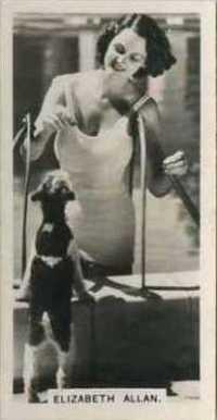 Elizabeth Allan 1937 Carreras Film Stars