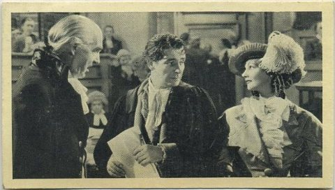 Elizabeth Allan and Ronald Colman 1940 Cinema Cavalcade Tobacco Card
