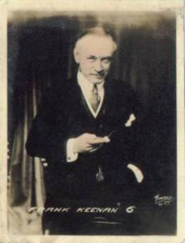 Frank Keenan circa 1920 Fox Tone Photo