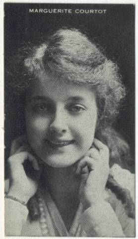 Marguerite Courtot 1910s Piqua Trading Card