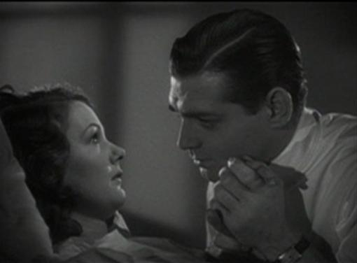 Elizabeth Allan and Clark Gable
