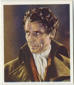 Ronald Colman 1938 Godfrey Phillips Tobacco Card