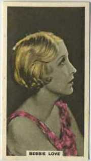 Bessie Love 1934 Abdulla Tobacco Card