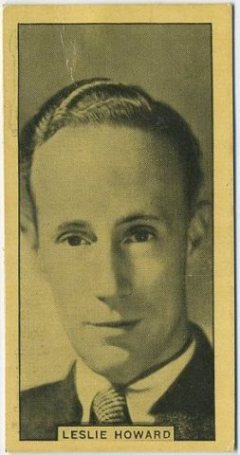 Leslie Howard 1932 BAT Tobacco Card