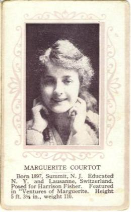 Marguerite Courtot 1915 Trading Card