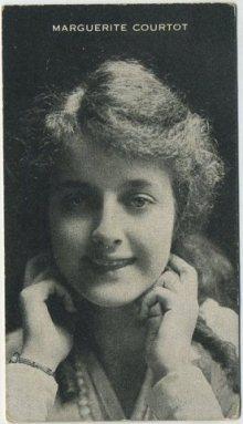 Marguerite Courtot circa 1917 trading card