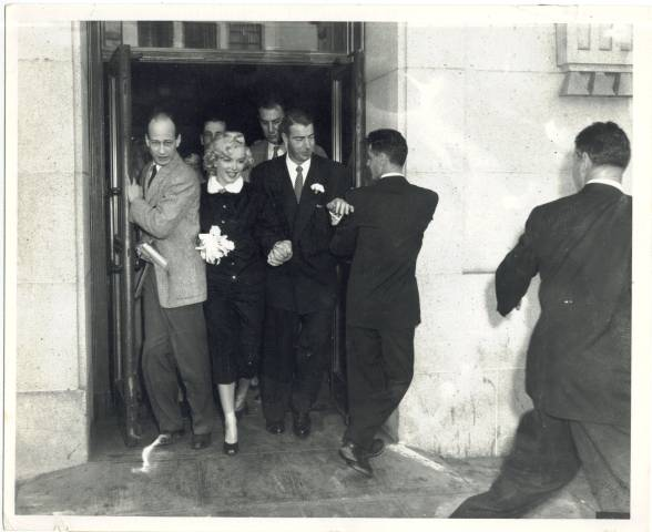 Exiting the Courthouse