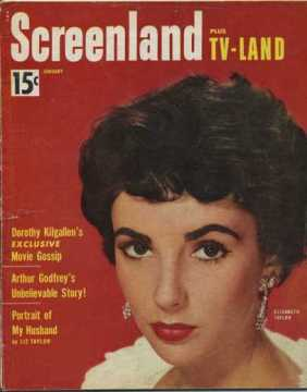 January 1954 Screenland Magazine - Portrait of My Husband