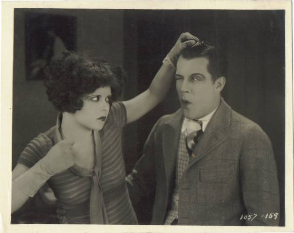 1927 Double Weight Linen Backed Photo from Rough House Rosie with Reed Howes