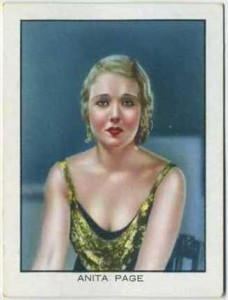 1933 BAT World Famous Cinema Artistes