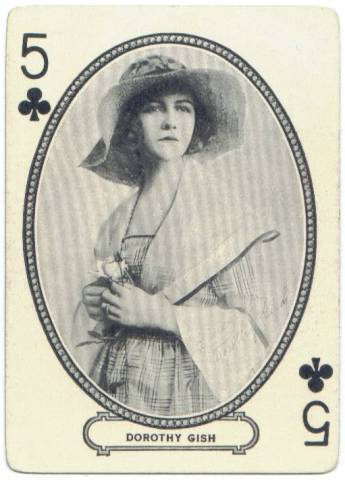 1916 MJ Moriarty Playing Card