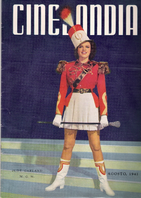 A better look at the August 1941 issue of Cinelandia.
