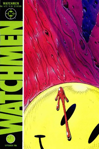 Watchmen number 1 of 12 - click through image to see where I buy my comics.