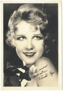 1920s 5x7 Fan Photo