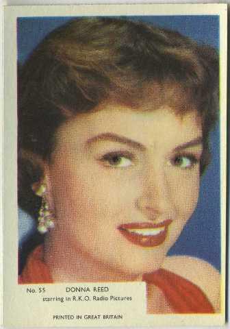1955 Kane Trading Card