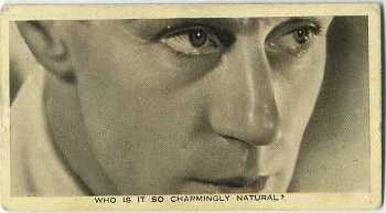 "1936 Ardath ""Who Is This?"" Tobacco Card"