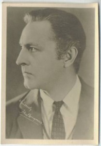 John Barrymore 5x7 Fan Photo