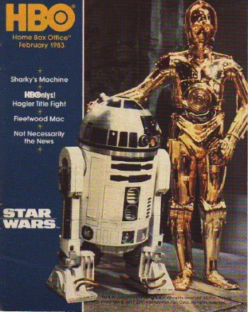 HBO Magazine, February 1983, courtesy The Star Wars magazines encyclopedia