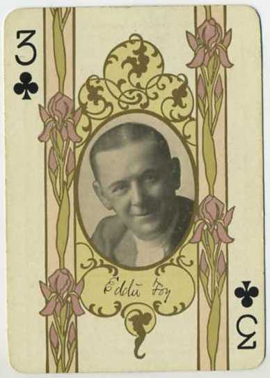 Eddie Foy -1908 Playing Card