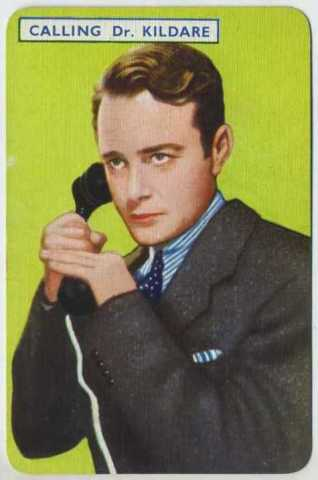 Lew Ayres 1939 Film Fantasy Game Card