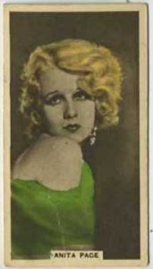 1934 Abdulla Tobacco Card